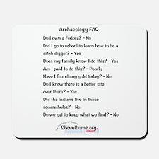 Mousepad - Archaeology FAQ- cbos