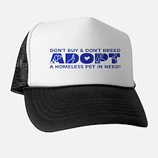 Blue Adopt Trucker Hat