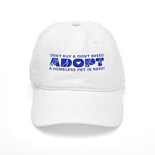 Blue Adopt Baseball Cap