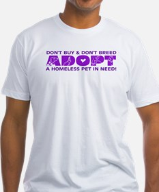 Purple Adopt Shirt