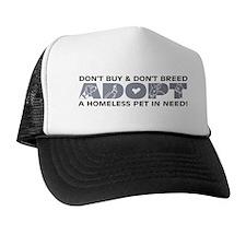 Grey Adopt Trucker Hat