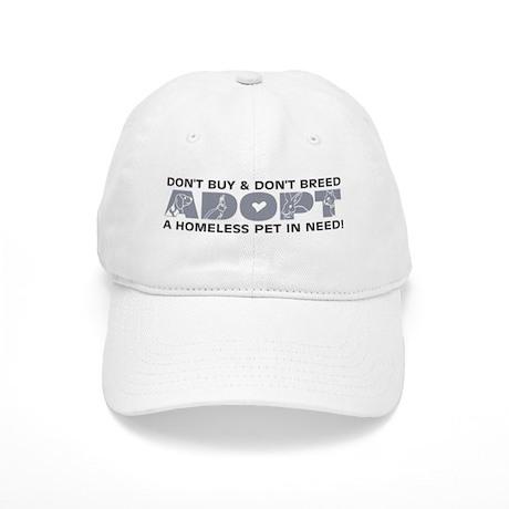 Grey Adopt Cap
