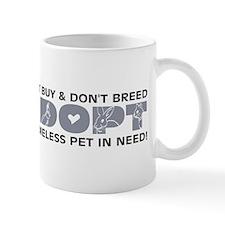 Grey Adopt Mug