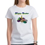 Happy Easter Bunny and Basket Women's T-Shirt