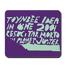 "Pantufla ""Toynbee Idea"" Mousepad"