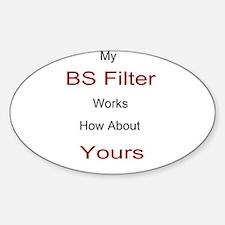 BS Filter Sticker (Oval)