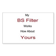 BS Filter Decal