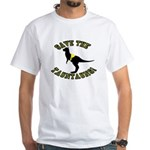 Save The Tauntauns! White T-Shirt