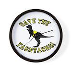 Save The Tauntauns! Wall Clock