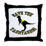 Save The Tauntauns! Throw Pillow