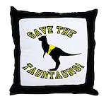 Save The Tauntauns! Throw Pillow
