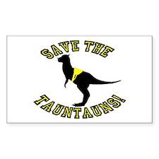 Save The Tauntauns! Decal