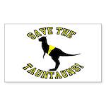 Save The Tauntauns! Sticker (Rectangle 10 pk)