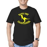 Save The Tauntauns! Men's Fitted T-Shirt (dark)