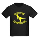 Save The Tauntauns! Kids Dark T-Shirt