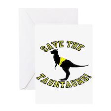 Save The Tauntauns! Greeting Card