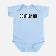 Go Atlanta! Infant Creeper