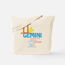 Gemini Traits Tote Bag