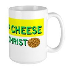 Worship Cheese Mug