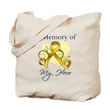 In Memory Childhood Cancer Tote Bag
