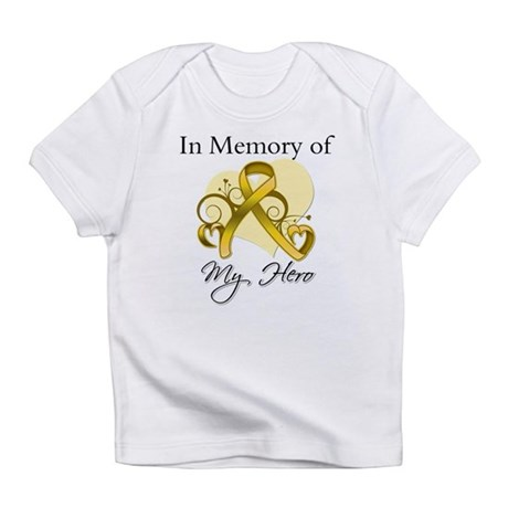 In Memory Childhood Cancer Infant T-Shirt