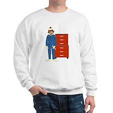 Sock Monkey Mechanic Sweatshirt