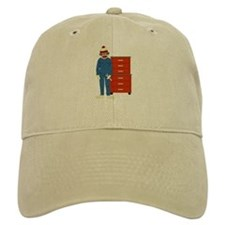 Sock Monkey Mechanic Baseball Cap