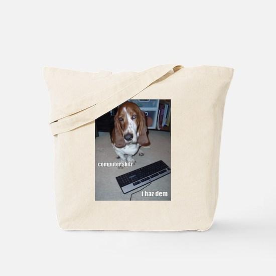 Computer Skilz Tote Bag