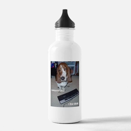 Computer Skilz Water Bottle