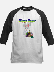 Easter Bunny Happy Easter Kids Baseball Jersey