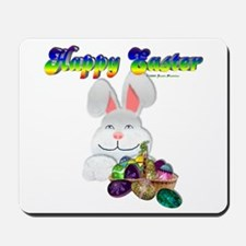 Easter Bunny Happy Easter Mousepad