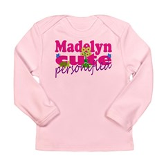 Cute Madelyn Long Sleeve Infant T-Shirt