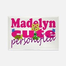 Cute Madelyn Rectangle Magnet