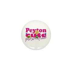 Cute Peyton Mini Button (100 pack)