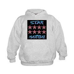 Star Material Skyblue Hoodie