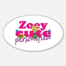 Cute Zoey Decal