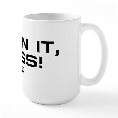 NCIS: On It! Large Mug