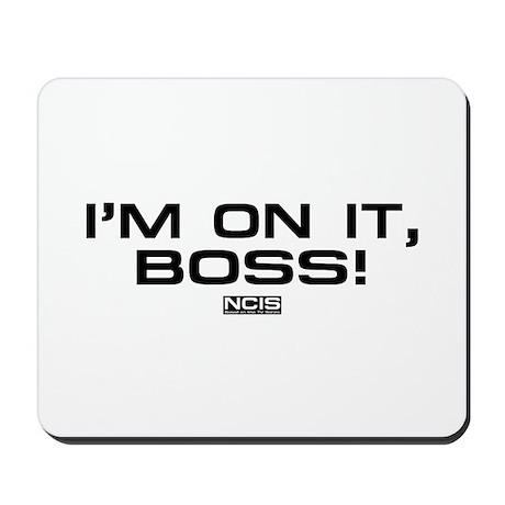NCIS: On It! Mousepad