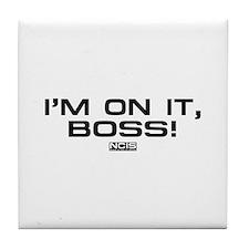 NCIS: On It! Tile Coaster
