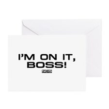 NCIS: On It! Greeting Cards (Pk of 20)