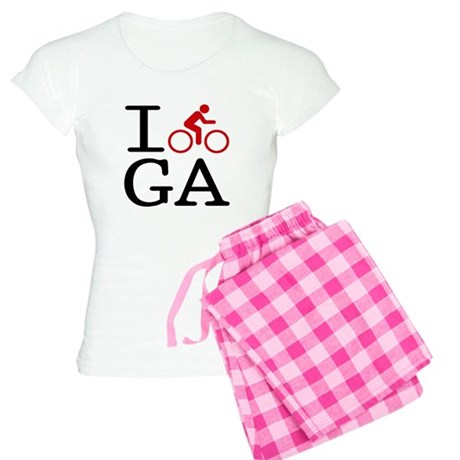 I Bike GA Women's Light Pajamas