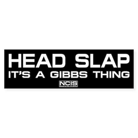 NCIS: Head Slap Sticker (Bumper 10 pk)
