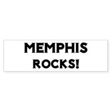 Memphis Rocks! Bumper Bumper Sticker