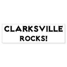 Clarksville Rocks! Bumper Bumper Sticker