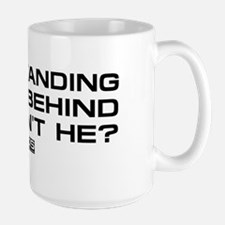 NCIS: Right Behind Large Mug
