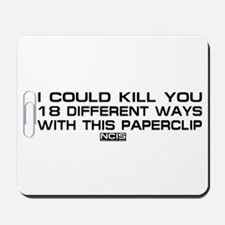 NCIS: Paperclip Mousepad