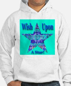 Ornate Star Wish Exotic Jade Hoodie