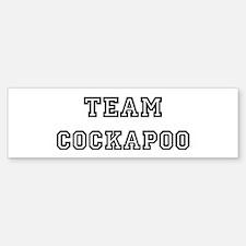 Team Cockapoo Bumper Bumper Bumper Sticker