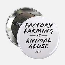 """Factory Farming 2.25"""" Button"""