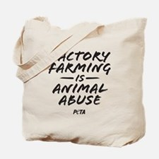 Factory Farming Tote Bag